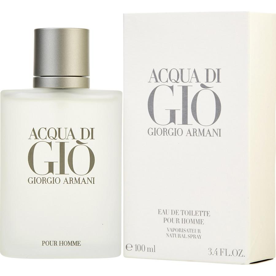 b820100b7423 Giorgio Armani acqua Di Gio Eau de Toilette Pour Homme 100ml (AUTHENTIC  OVERRUN PERFUME FROM