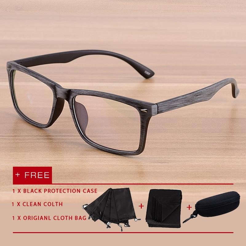 56b17f1923 2018 New fashion men women eyewear eyeglasses Anti Blue Light Glasses UV  Spectacles flat lens glasses