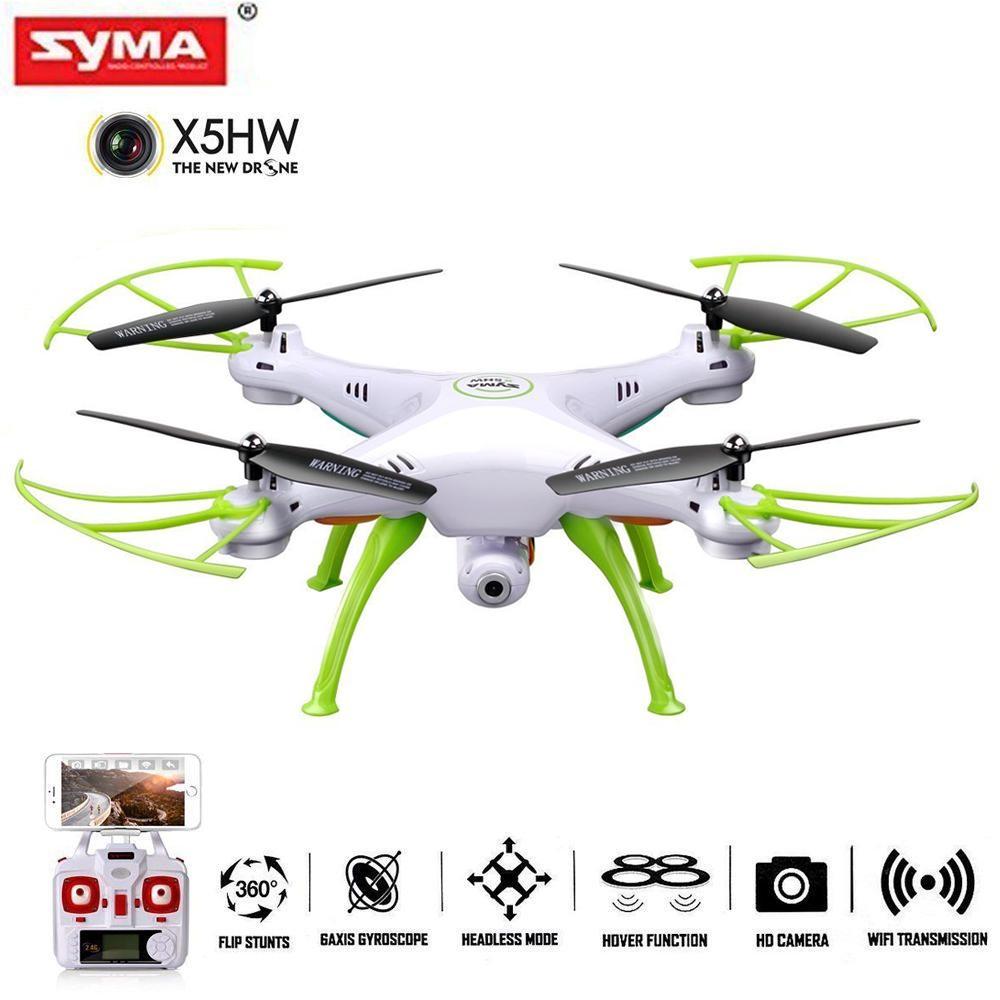 16aded26774 Syma X5HW WIFI FPV With 2MP HD Camera 2.4G 4CH 6-Axis Gyro Quadcopter