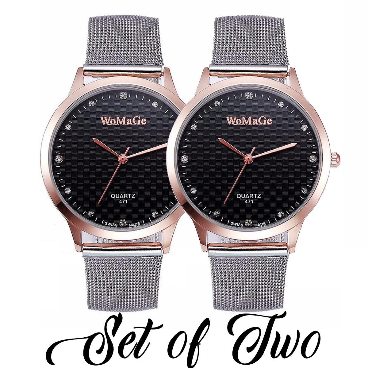 ChronosMNL SYNOKE 471 Fashion Womens' Watch Silver Steel-belt Quartz Wristwatch/BUY ONE