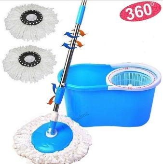 Cheapest Price Spin Mop Magic Mop with Cleaner Bucket and 2 Mop Heads flash sale - Only ₱540.00