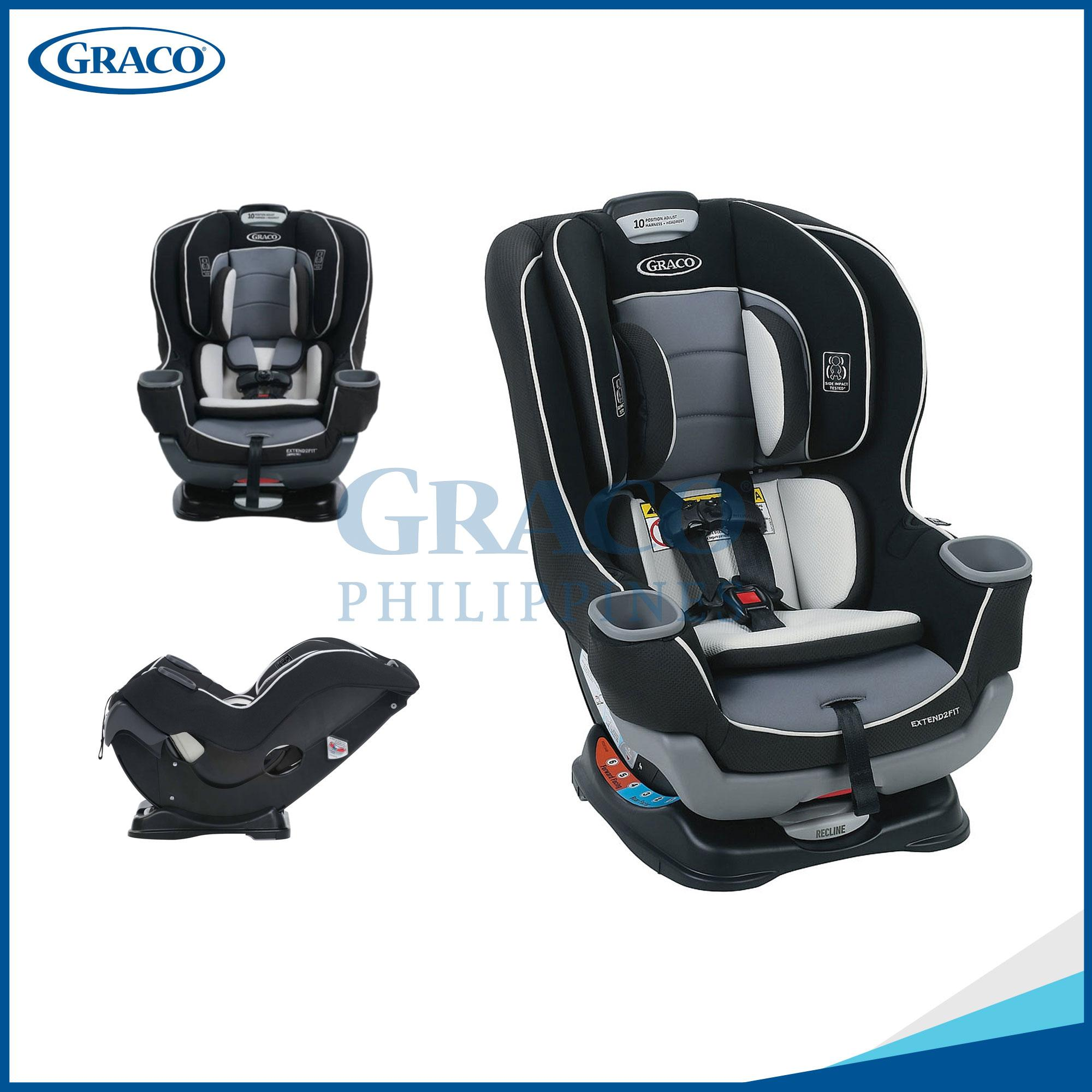 Graco Car Seat Extend2Fit Gotham