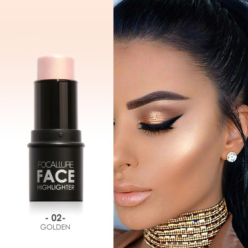 Focallure Face Bronzer&Highlighter Stick Professional Shadow Repair Contour Sticks Women Beauty Makeup Concealer Pen Philippines