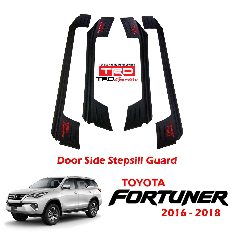 Toyota Fortuner 2016-2018 TRD Sportivo OEM Fit Door Step Sill Guard