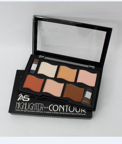 Highlighter Face Powder Contour Kit Concealer Palette Makeup-Parkson Philippines