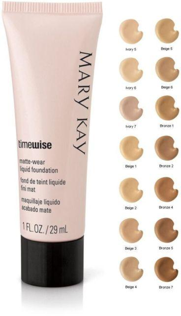 M Kay TimeWise Matte-Wear Liquid Foundation Beige 2 (Matte) Philippines
