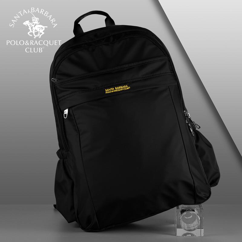 d026462b893 Santa barbara POLO&RACQUET CLUB Backpack nan bei bao Large Capacity School bag  bags Travel Men s bag