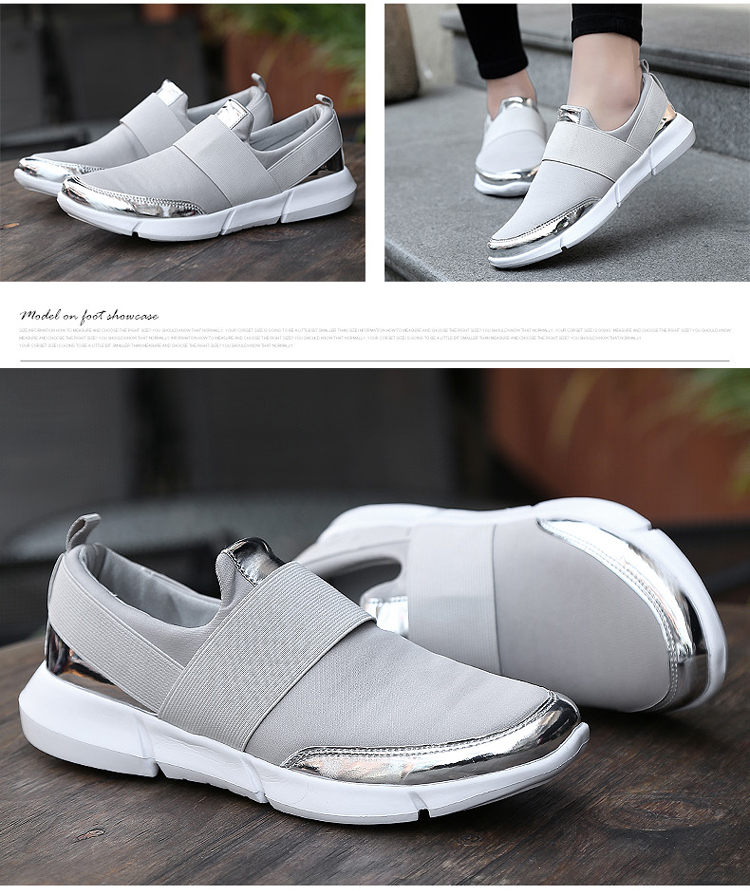 4850f7c435b Specifications of YEALON Fashion Casuals Shoes Woman Sneakers White Running  Shoes For Women Sneakers Slip On Krasovki Ladies Black Zapatillas  Deportivas ...