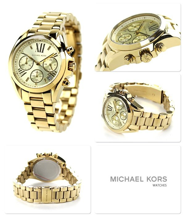 245c28624a2c Specifications of Michael Kors Women s Bradshaw Gold Stainless Steel Strap Watch  MK5798
