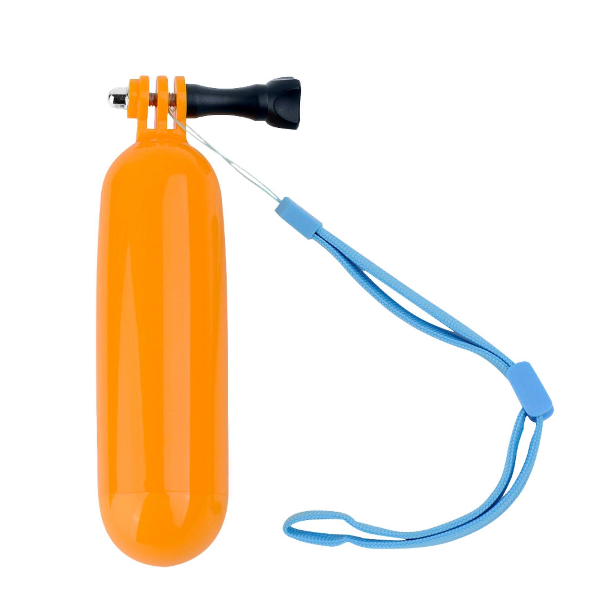 Sjcam Floating Bobber Monopod Grip For Action Camera (orange) By Sjcam.