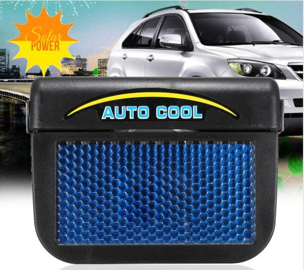 Rukia Solar Powered Auto Car Window Auto Air Vent Cool Ventilation Fan Air Vent Radiator With Rubber Strip Ventilation System By Rukia Shop.