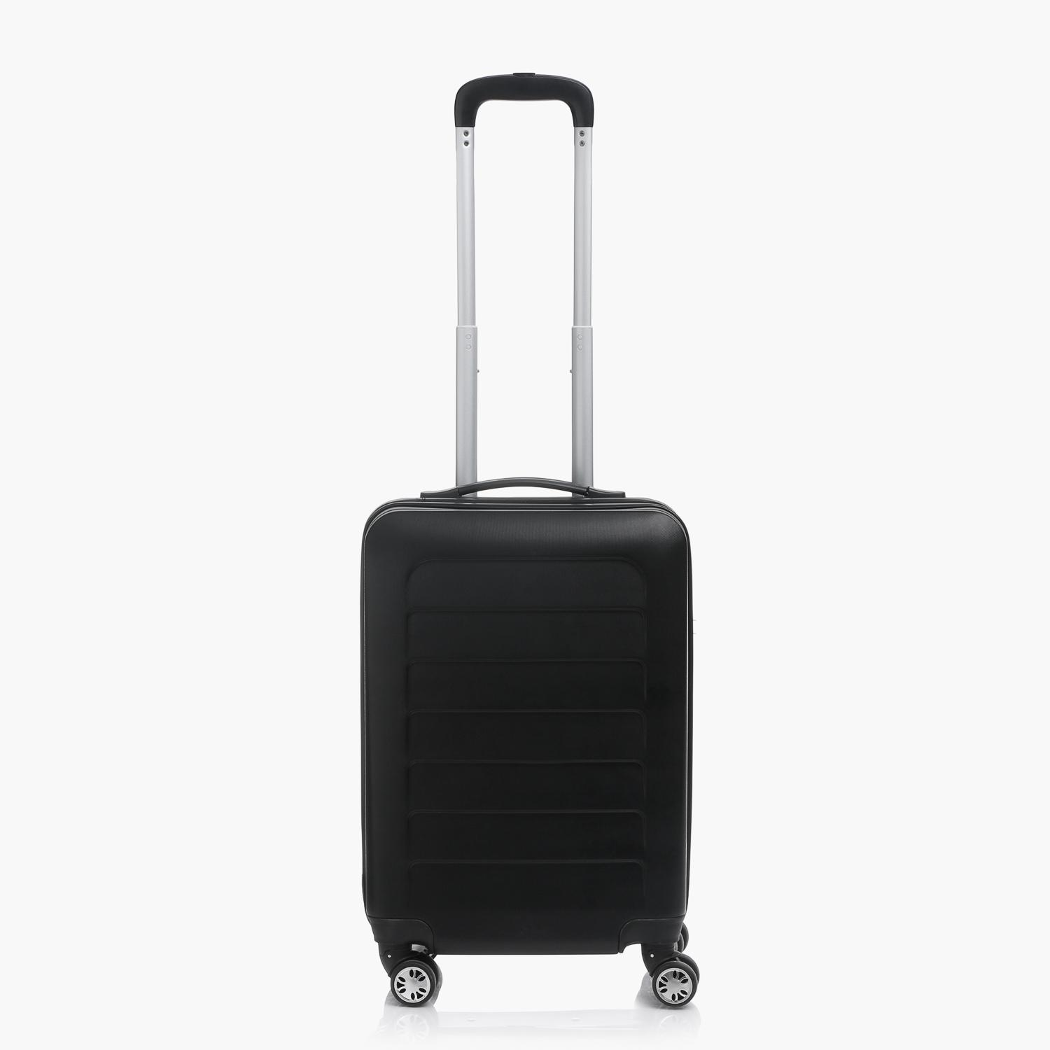 Travel Basic Clare 20-Inch Small Hard Case Luggage (Black) 44e5ddf09381b