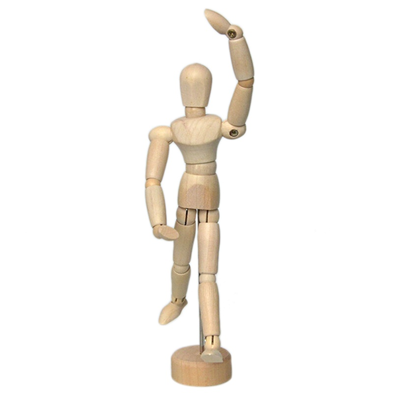 55 Drawing Model Wooden Dummy To Men Stupid Joint Model Puppet Intl