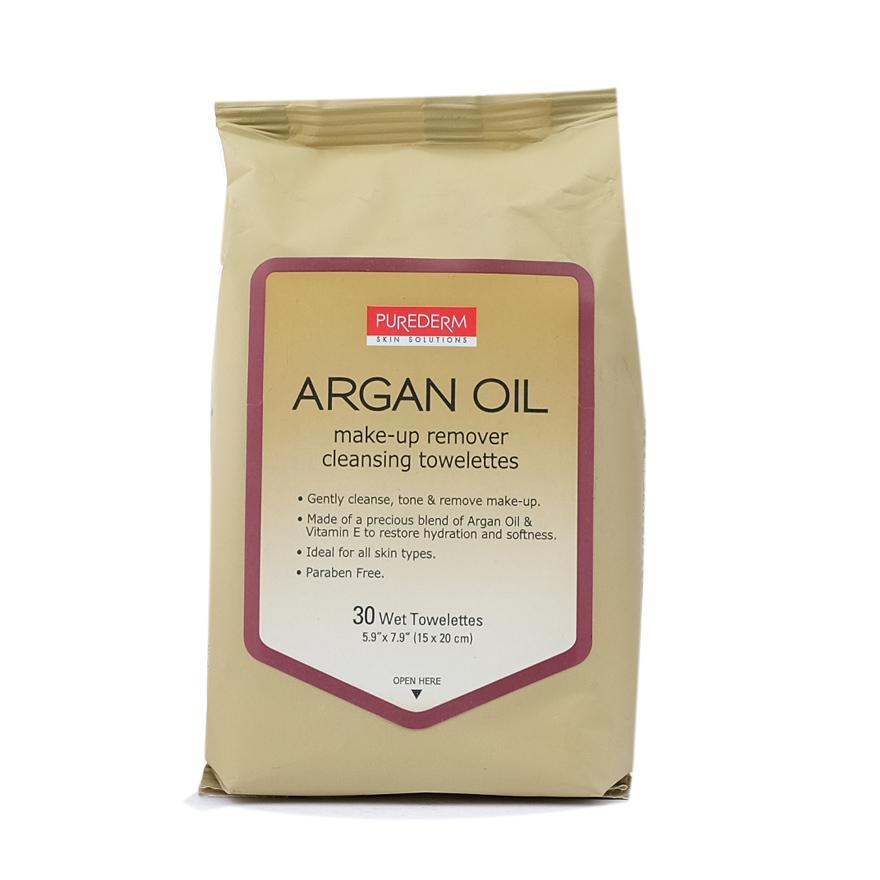 Purederm Make Up Remover Cleansing Tissue Argan Oil 30s By Watsons Personal Care Stores.