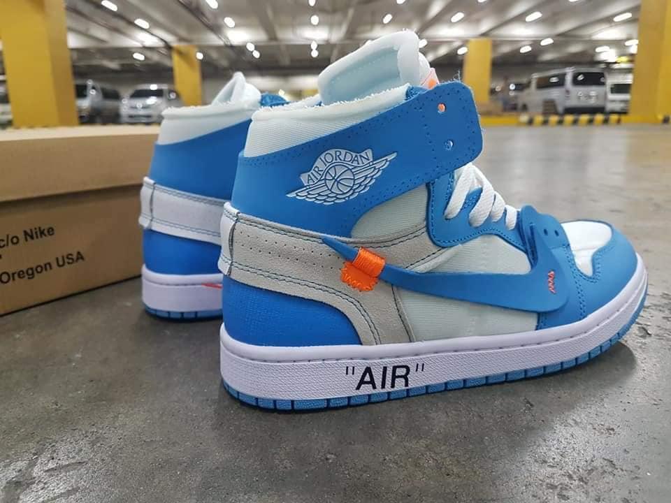 new concept 09869 a4e1d JORDAN 1 OW UNC Blue for Mens