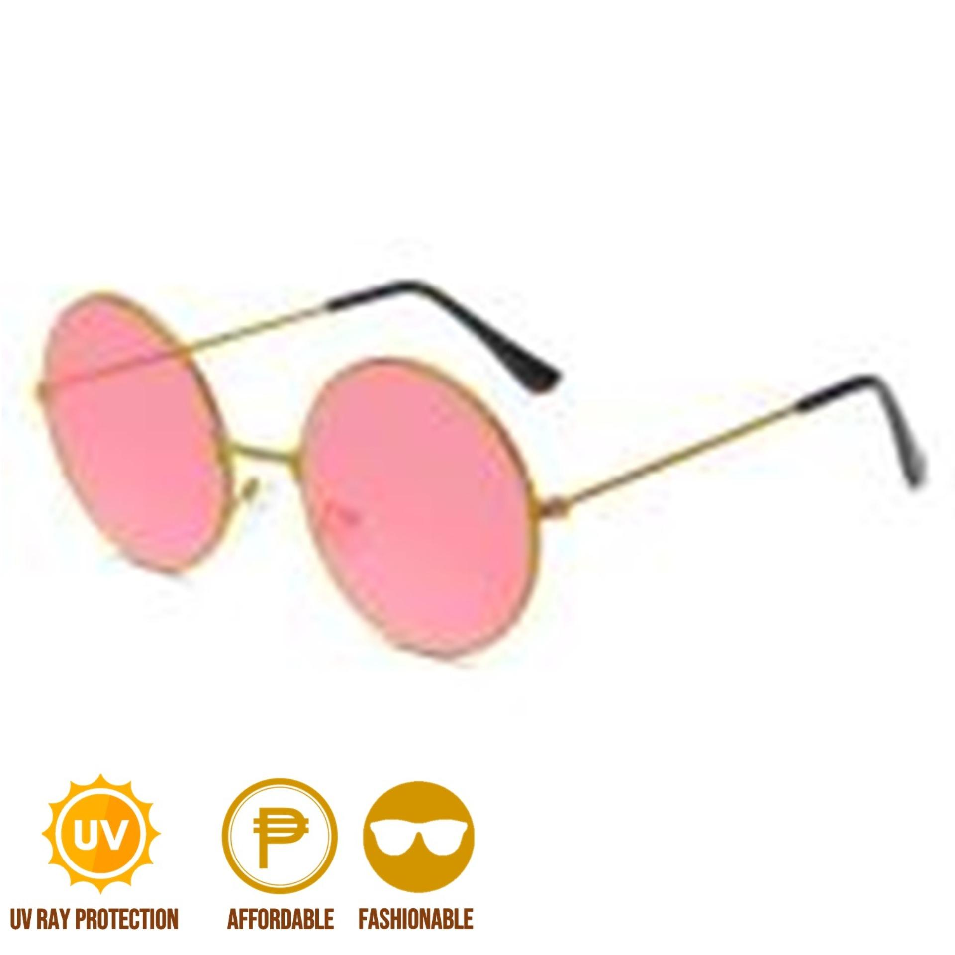 ae8a7eba86efc ANT Retro Round Style Harry Potter Colored Vintage Glasses Tint Sunglasses  Sunnies Shades Metal Frame
