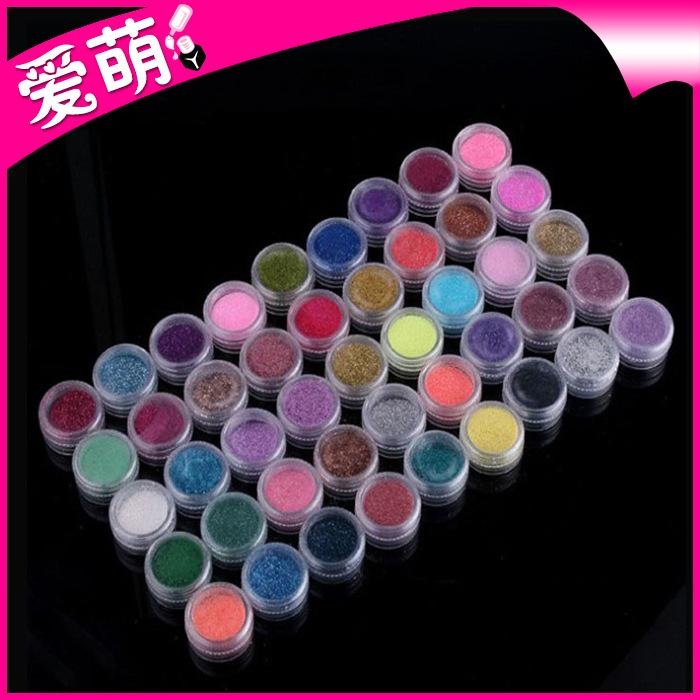 45 Color Nail Art Makeup Decoration Glitter Dust Powder Philippines