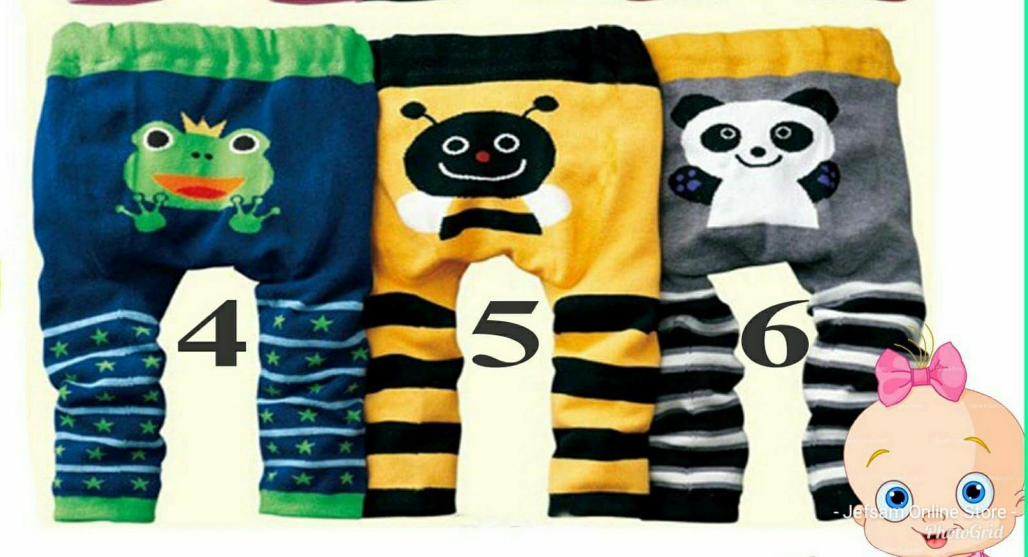 Assorted Busha Pants for Baby Boy 3pcs