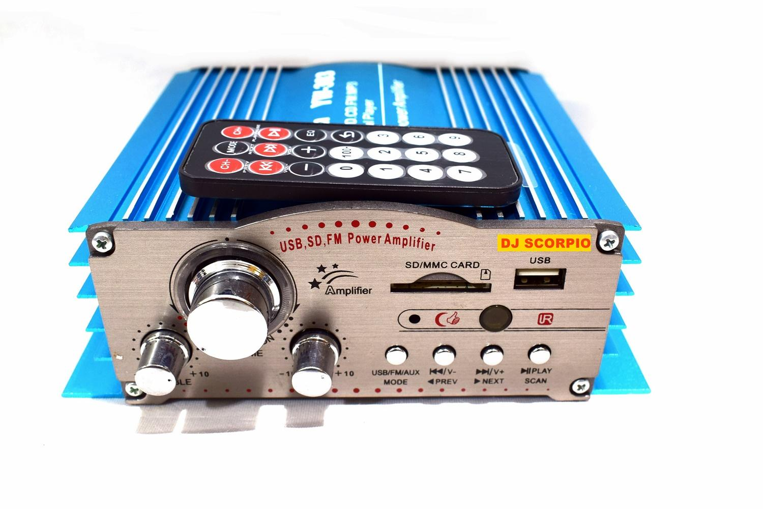 Car Amplifier For Sale Audio Online Brands Prices Small Motorcycle Fuse Box Dj Scorpio Dc 12v 200 W X 4 Channel Motor