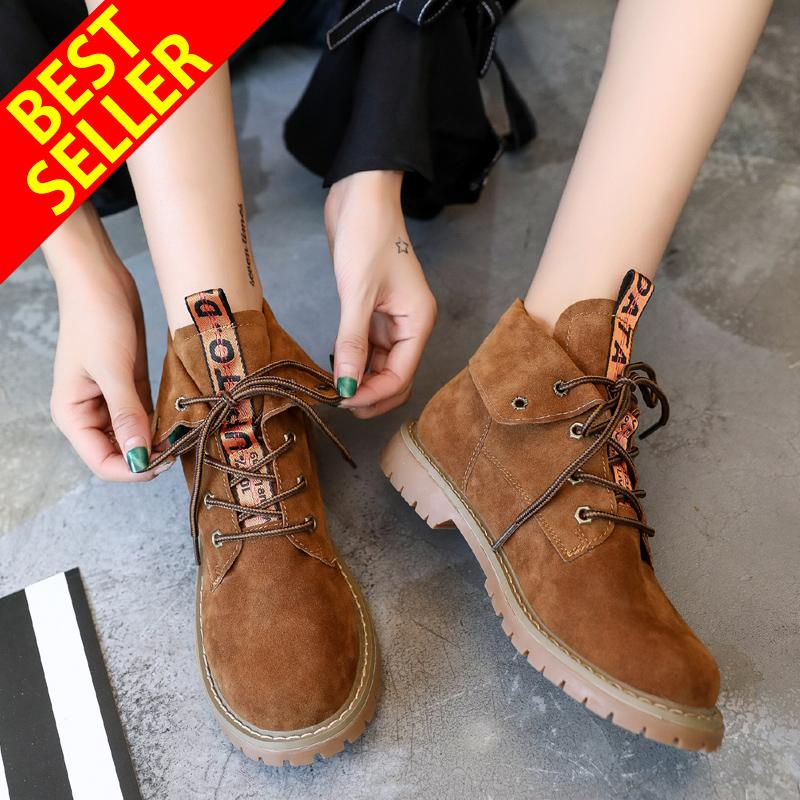 QINGSHUI Newest Women Ankle Boots Female Fashion PU Leather Platform Woman Shoes casual Boots For Women