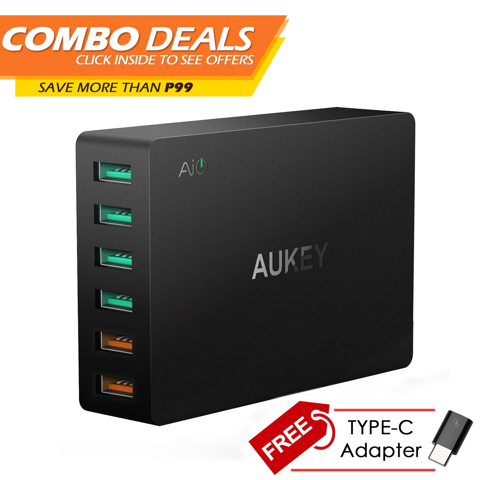 Buy Sell Cheapest Quick Charge Usb Best Quality Product Deals Tronsmart 30 42w 3 Port Charger W3pta Qualcomm Certified Aukey Pa T11 6 Fast Wall For
