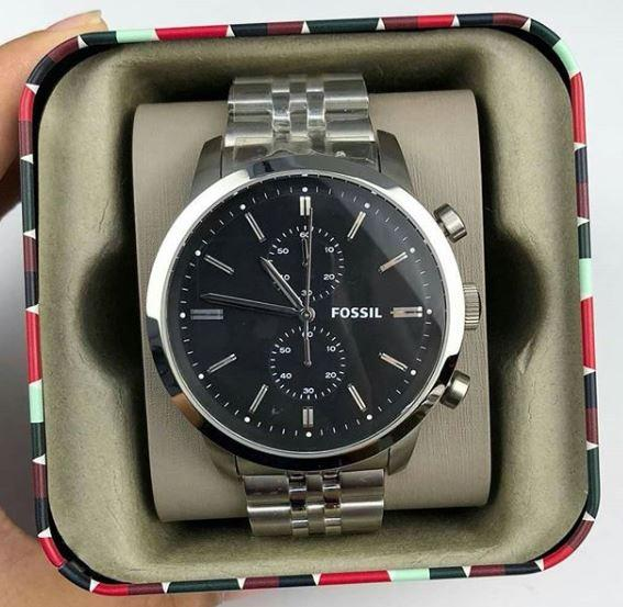 27a4fe5e3619 5975 items found in Fashion. Fossil Watch - FS4784 Townsman Chronograph  Black Dial Men s Watch