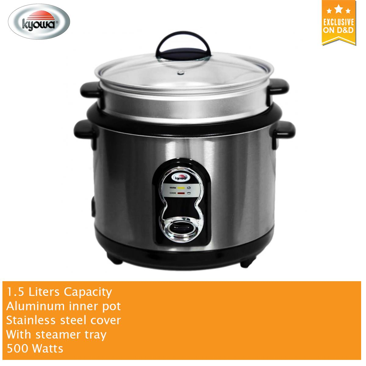 Kyowa Rice Cooker Philippines Steamer For Sale Prices Wiring Diagram 15 L With Stainless Steel Cover Aluminum Inner Pot Kw 2043