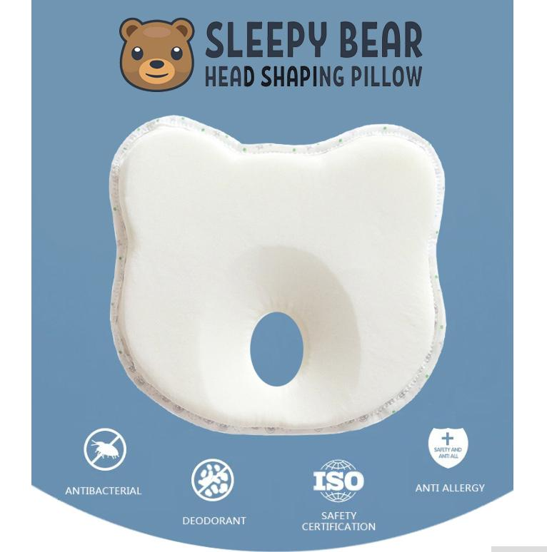 7ad26f2ea85f Baby Pillow prevent flat head Positioner Neck Support Prevent Plagiocephaly  for Infants & Newborn