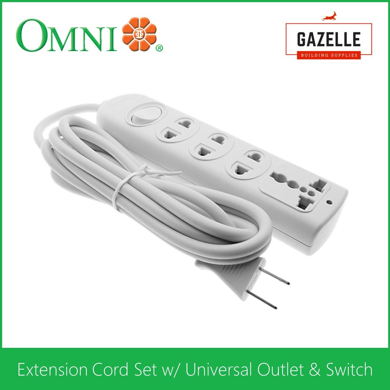 Extension Cord For Sale Electrical Cables Prices Brands Review Wiring A Wall Socket Nz Omni Set W Universal Outlet And Switch Wer 103