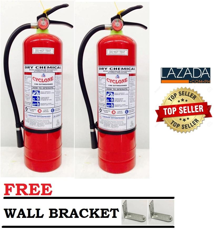 2pcs 10lbs Fire extinguisher ABC Dry Chemical (Red) bundle of 2pcs