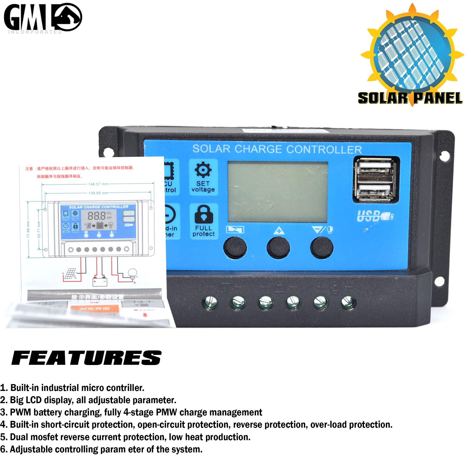 Solar Philippines Price List Led Light Set For Sale Lazada 24v Waterproof Street Pwm Charge Controller Circuit High Quality Pmw 10a 12 Lcd Battery Regulator Backlit