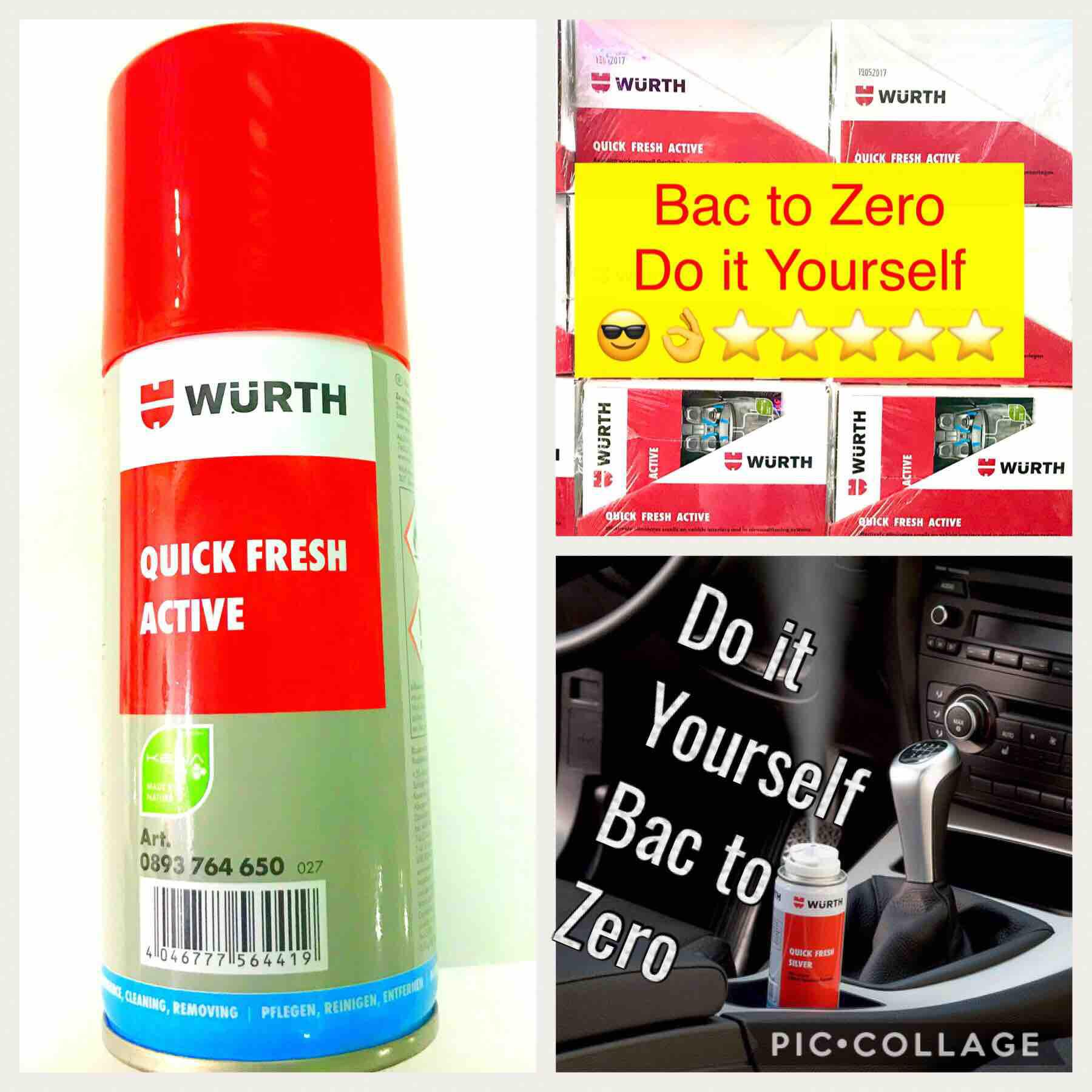 Car Air Conditioning For Sale Auto Online Brands Central Fuse Box Wurth Quick Fresh Bac To Zero Odor Eliminator Diy