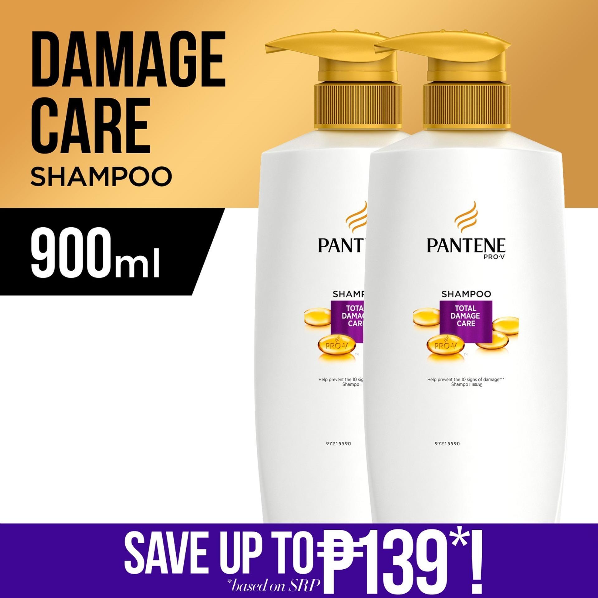 [BUY 2 @ 20% OFF] Pantene Total Damage Care Shampoo 900mL