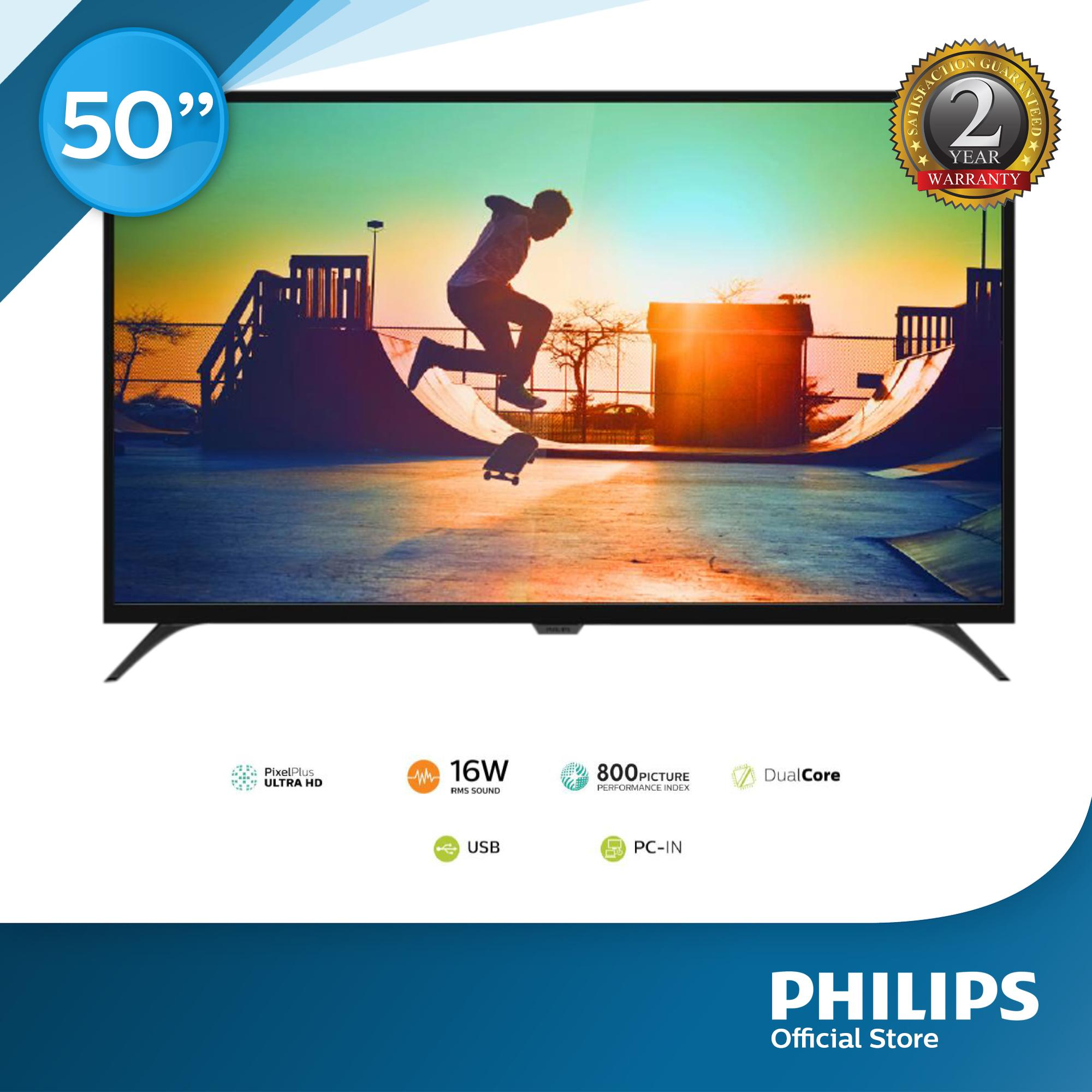 Philips LED TV 50PUT6022 4K Ultra with Pixel Plus Ultra HD