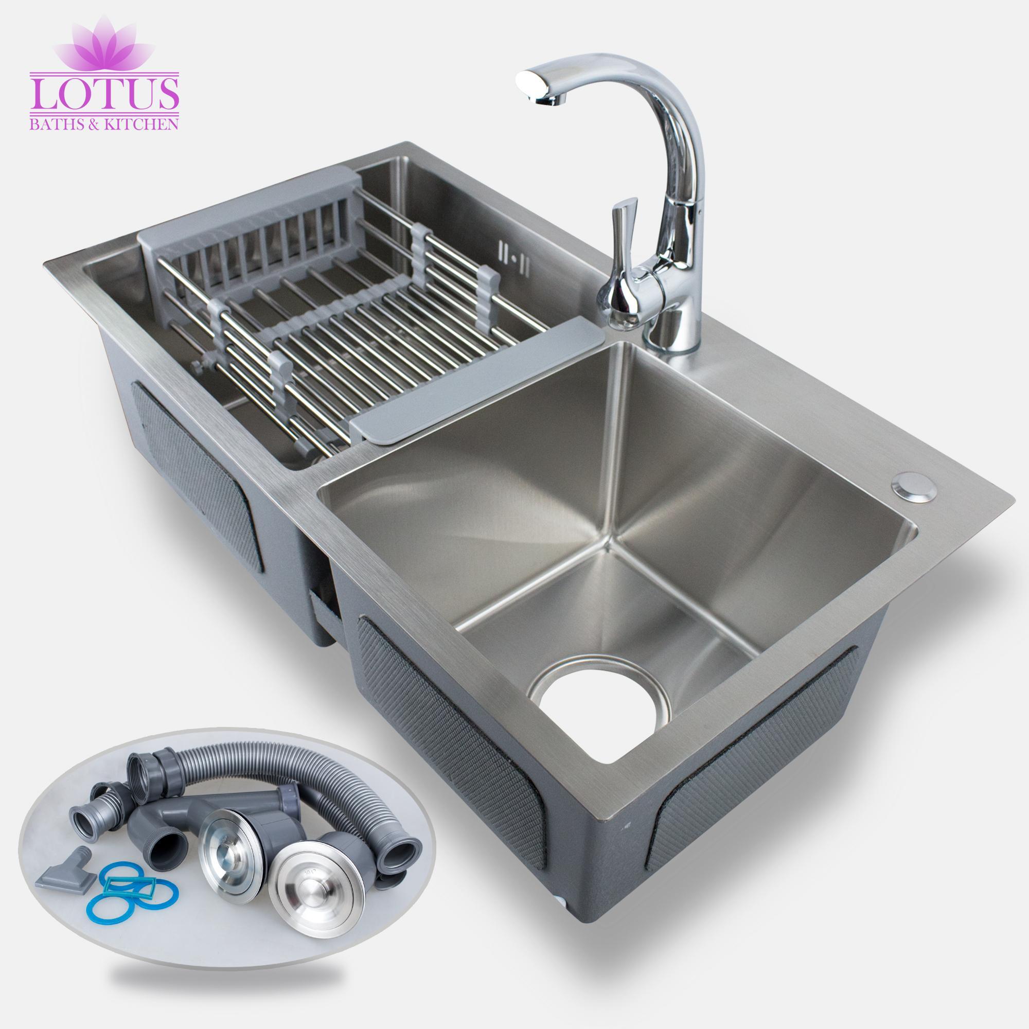 Black Kitchen Sink Malaysia: Kitchen Sink With Drainboard Philippines
