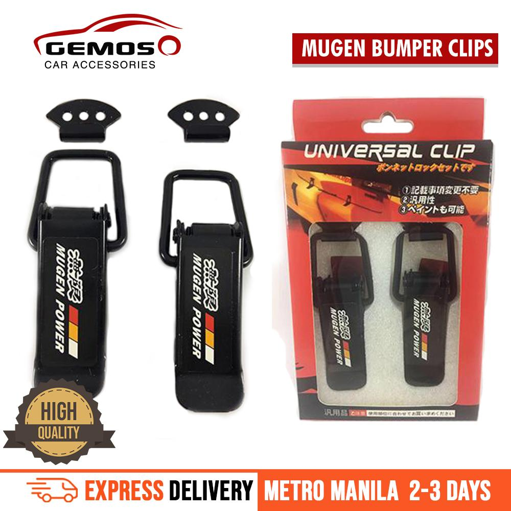 Mugen Quick Release Bumper Clip For Honda Cars By Gemos Car Accessories.