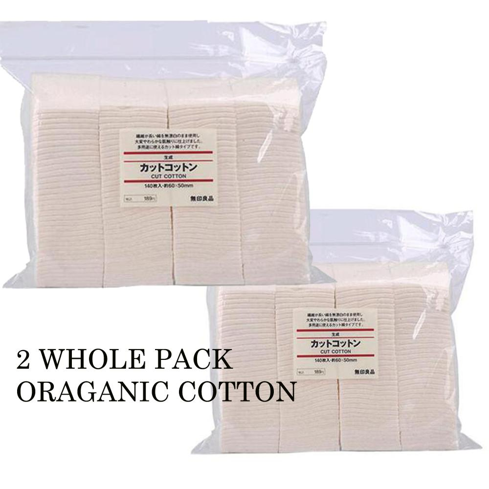 Buy Sell Cheapest Muji Korean Best Quality Product Deals Organic Cotton For Vape 5 Pads Japan 2 Whole Packs