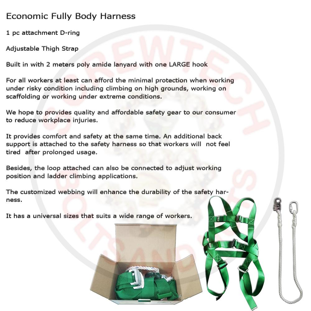 Support Harness For Sale Work Prices Brands Review In Wiring Iding Machine Full Body Safety Sa 99