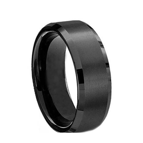 03da843e74 BODHI Fashion Unisex Titanium Steel Ring Wedding Band Couple Lovers Finger  Jewelry
