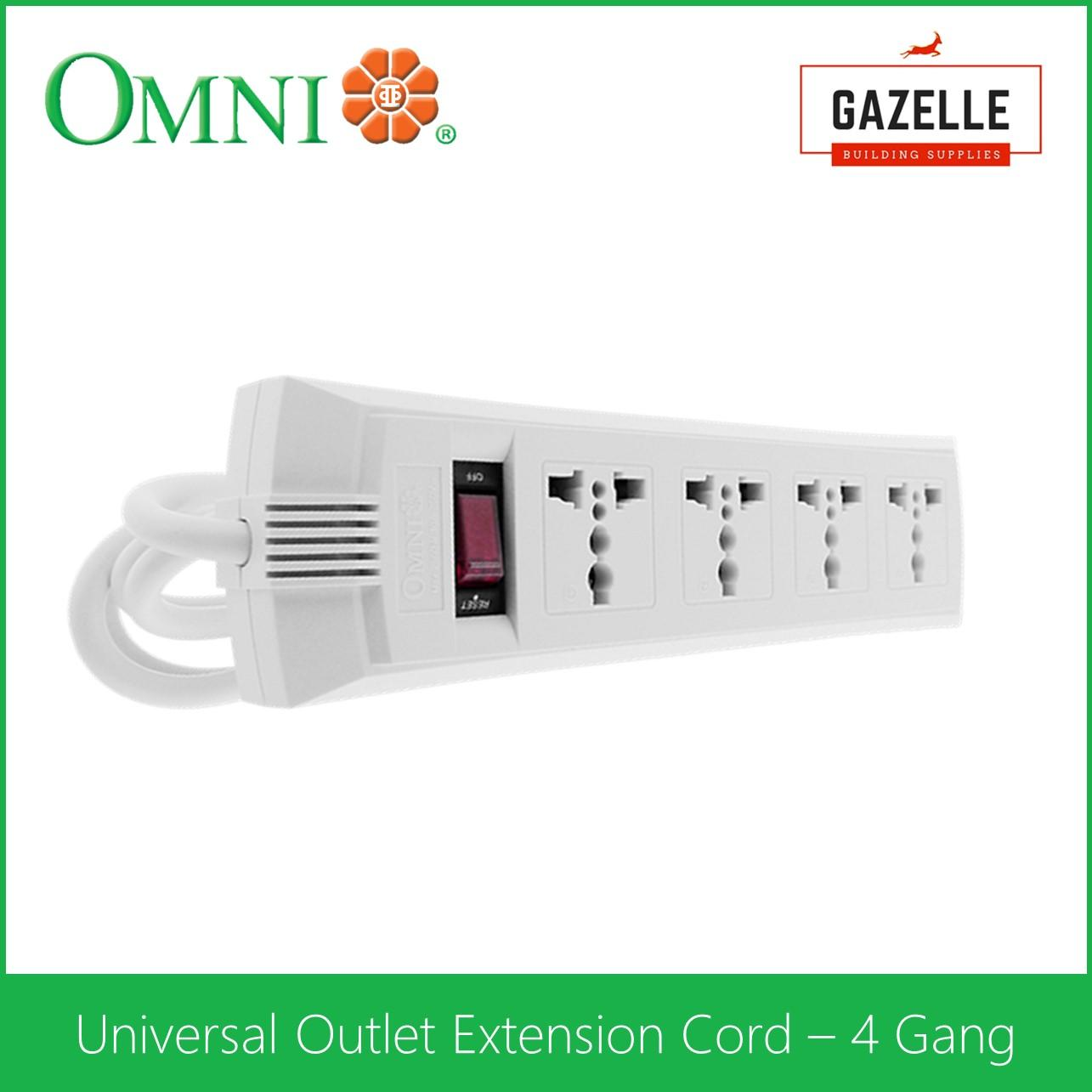 Omni Universal Outlet Extension Cord 4 Gang With Switch Weu 104 Help Wiring Up A Iec320 C14 Socket Electronics Forum Circuits