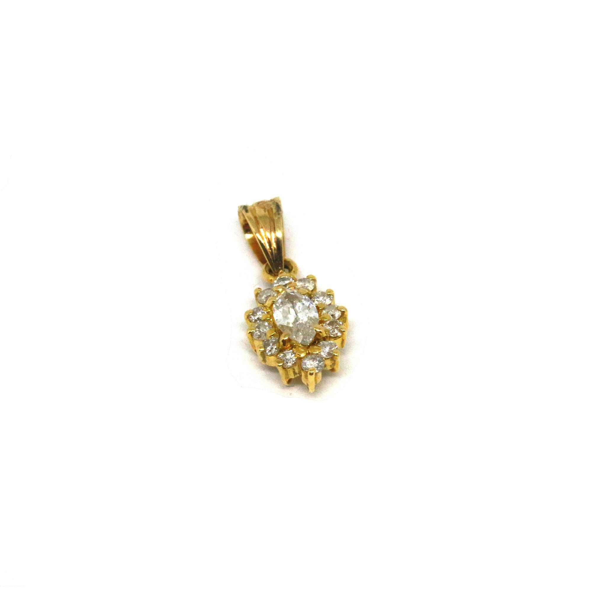 product p edit from acorn collection gemma pendant gold rose with country chain j the