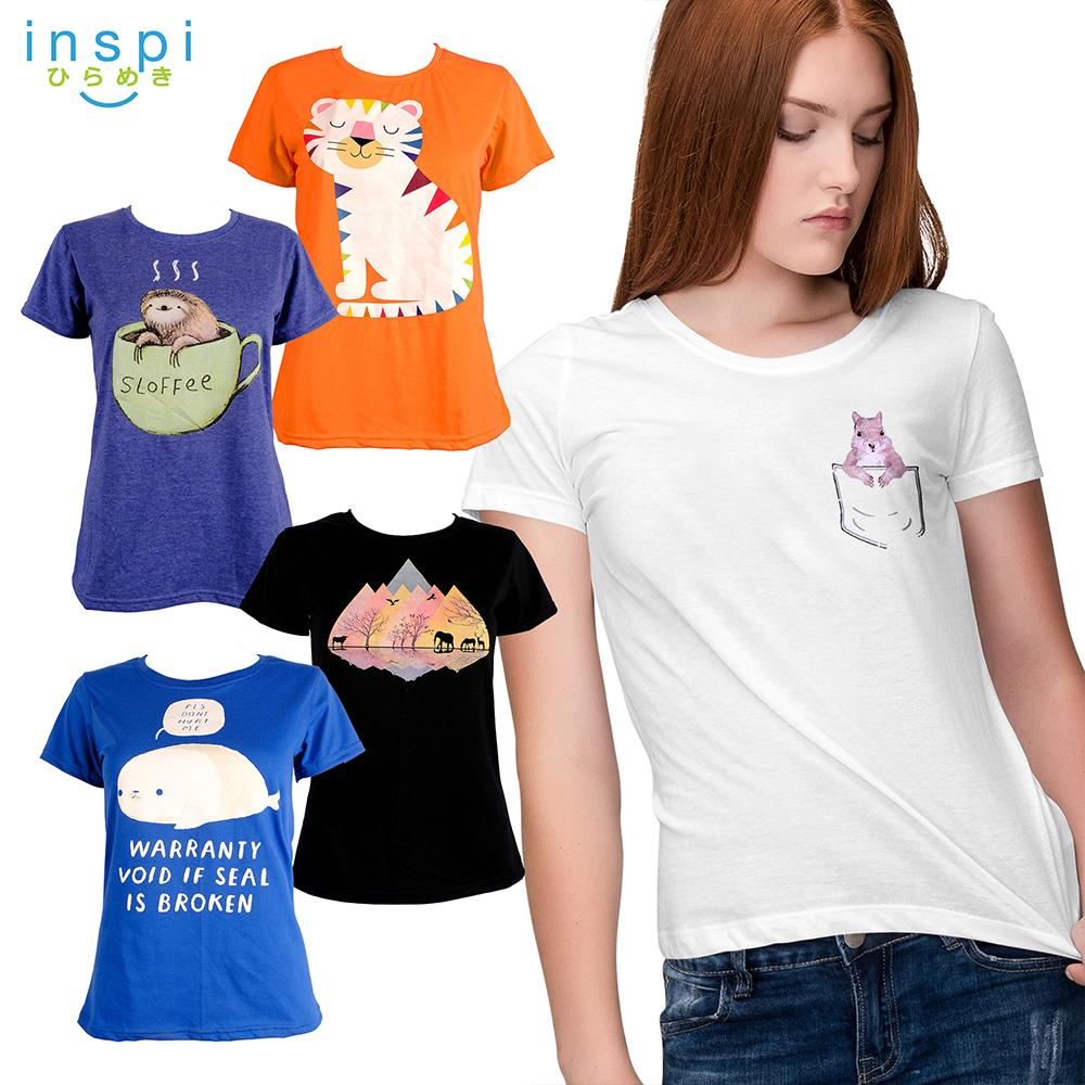 INSPI Tees Ladies Pet Collection tshirt printed graphic tee Ladies t shirt  shirts women tshirts for 26b5f0794c29
