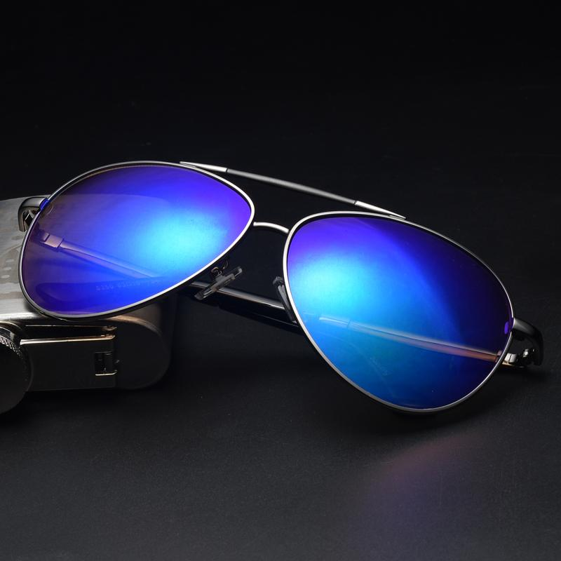 c838aa4314d2 New Style Colorful Reflective Sun Glasses Men And Women Reflective Lenses  Cool Large Box Vintage Sunglasses
