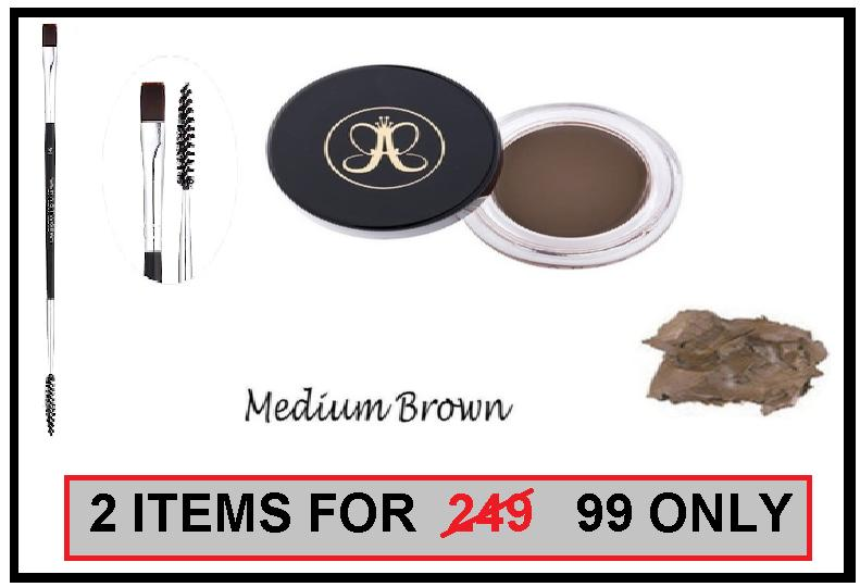 COD Medium Brown Brow Pomade with Brow Spoolie and  Brush Philippines