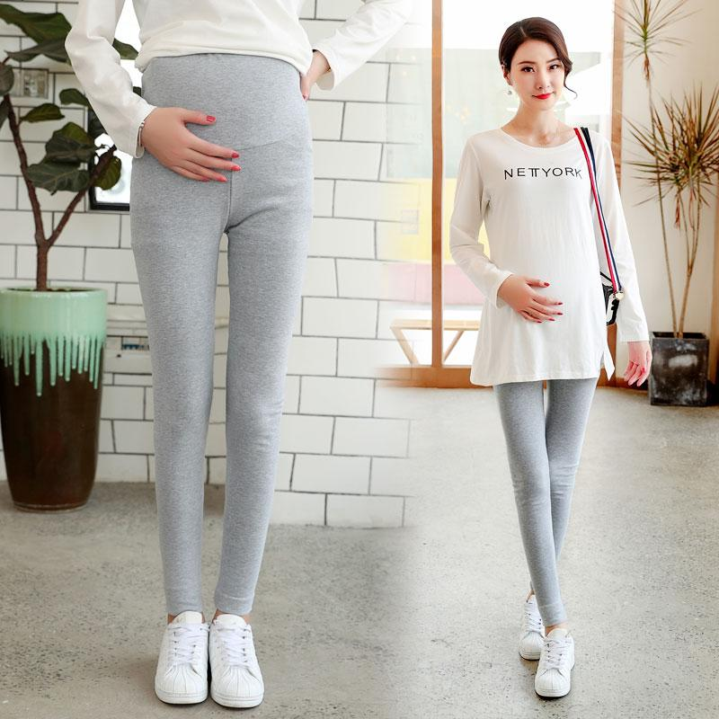 279841f1fa074 Leggings for Pregnant Woman 2018 New Style Autumn Clothing Pure Cotton  Ultra-stretch Maternity Pants