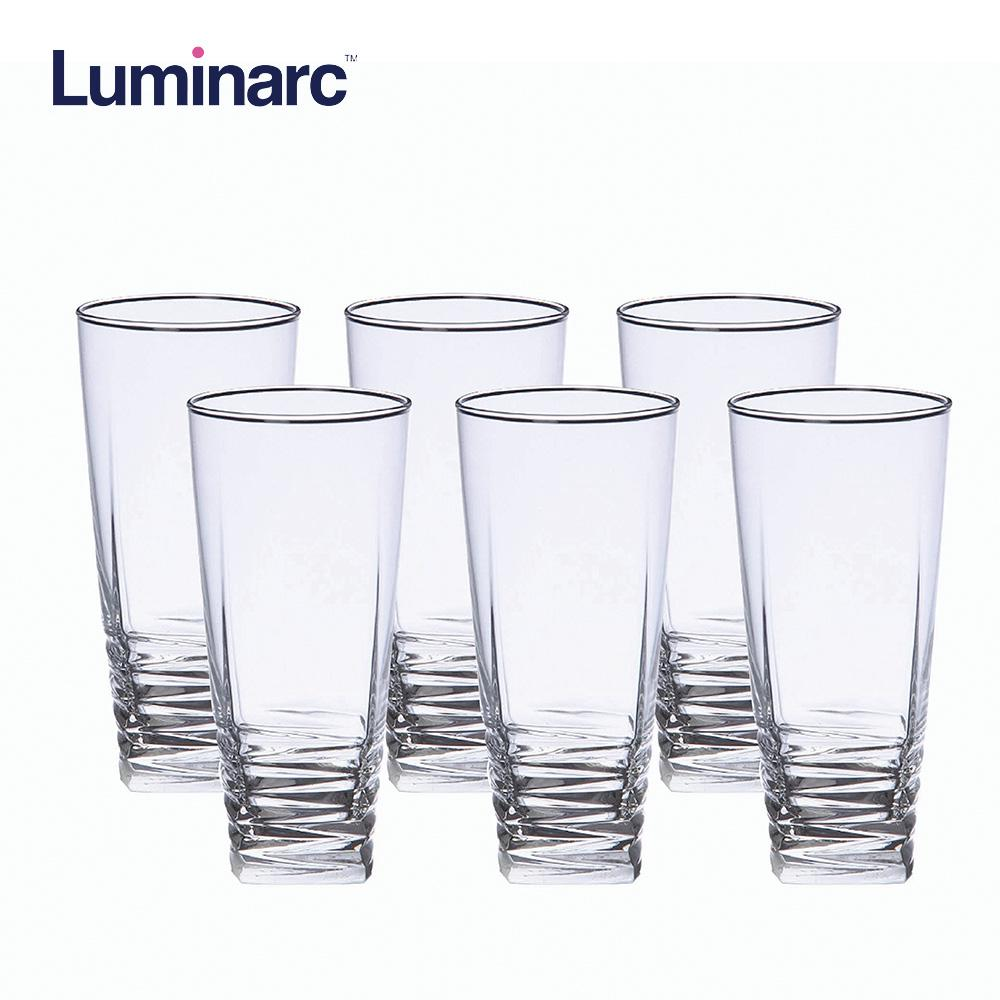 Luminarc First Class Heat Resistant and Dishwasher Safe Drinking Water Juice Glass Tumbler 33cl 6pcs