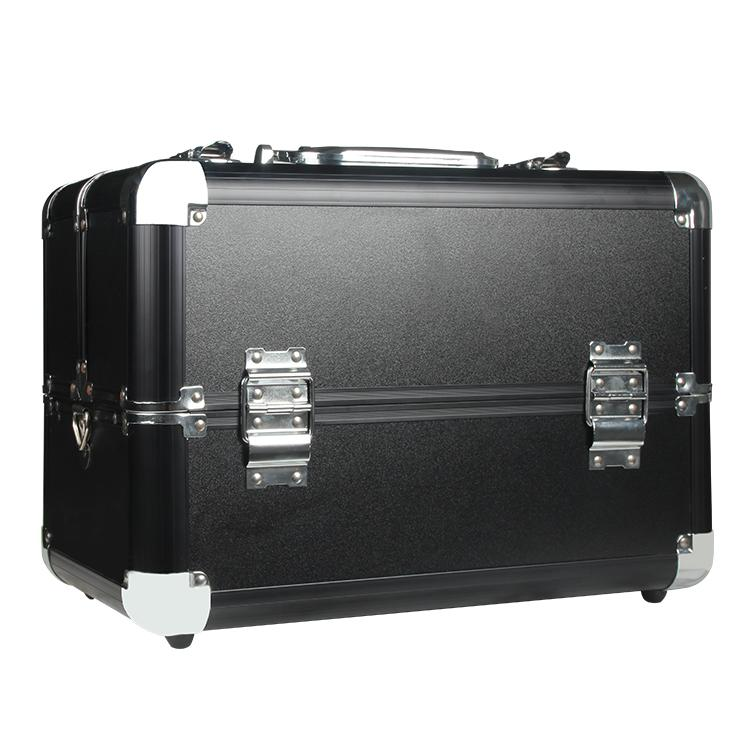 Multilayer Tattoo Aluminium Alloy Waterproof Makeup Box Large Size Cosmetic Tool Case Large Capacity Toolbox Manicure Makeup Philippines