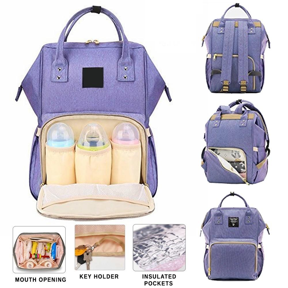 3d0fca0273 Diaper Bag Mummy Bag Nappy Bag Mommy Bag Baby Bag Diaper Backpack Big  Capacity Diaper Backpack
