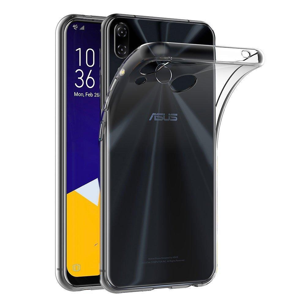 Windcase Ultra Slim Transparent Soft TPU Protector Case Cover for Asus Zenfone 5 ZE620KL / 5Z