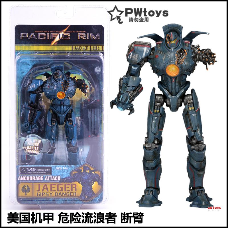 28bbc7ed NECA Pacific Rim 2 Mech Dangerous Rangers Eureka Storm Crimson Mobile  Garage Kit Toy Model
